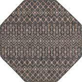 5' 3 x 5' 3 Outdoor Lattice Octagon Rug thumbnail