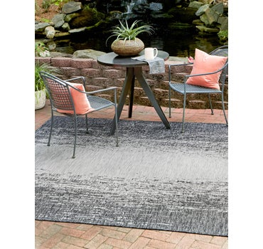 10' 8 x 10' 8 Outdoor Modern Square Rug main image