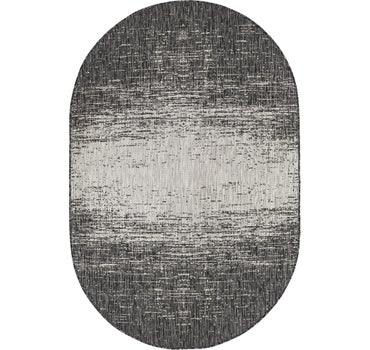 5' 3 x 8' Outdoor Modern Oval Rug main image