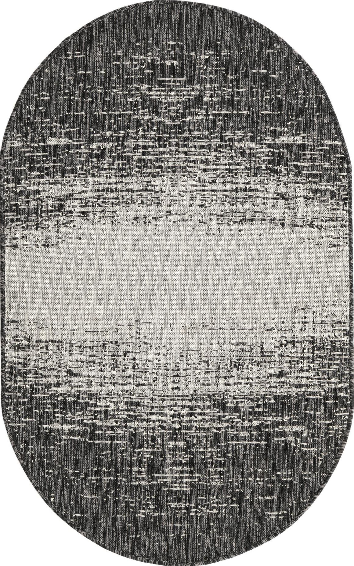 3' 3 x 5' 3 Outdoor Modern Oval Rug main image