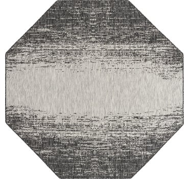 7' 10 x 7' 10 Outdoor Modern Octagon Rug main image