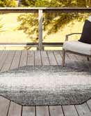 5' 3 x 5' 3 Outdoor Modern Octagon Rug thumbnail