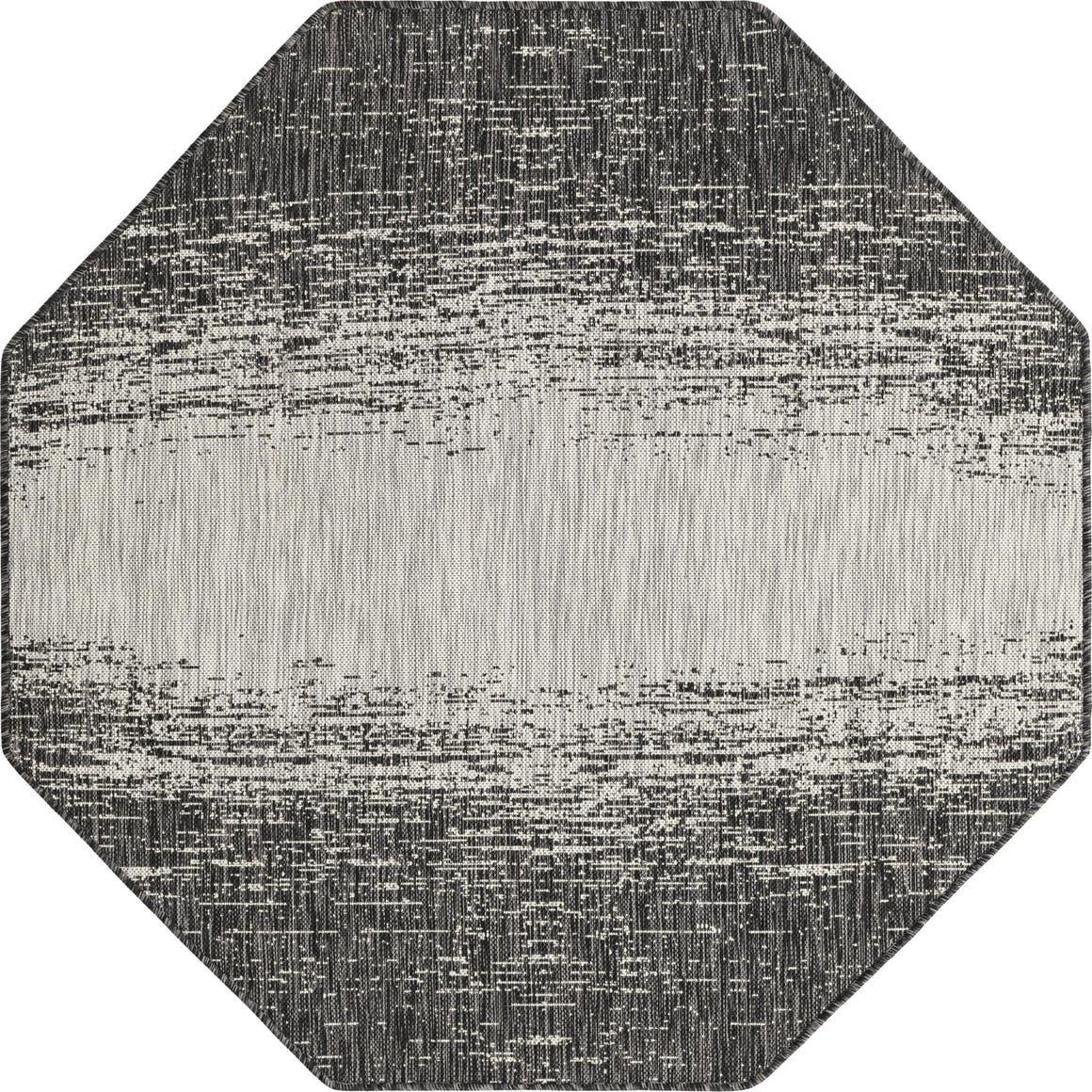 5' 3 x 5' 3 Outdoor Modern Octagon Rug main image