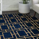 Link to Navy Blue Gold of this rug: SKU#3160575