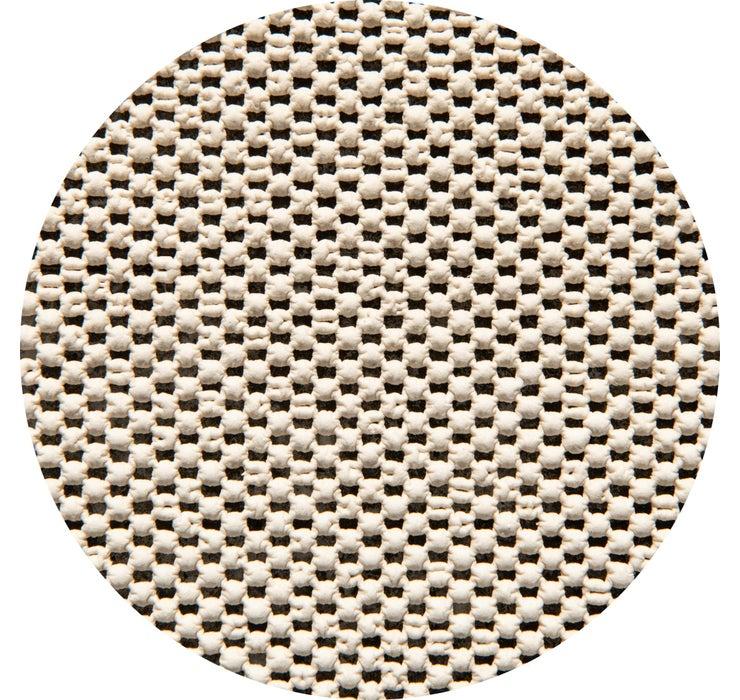 183cm x 183cm Uni-Eco Round Rug