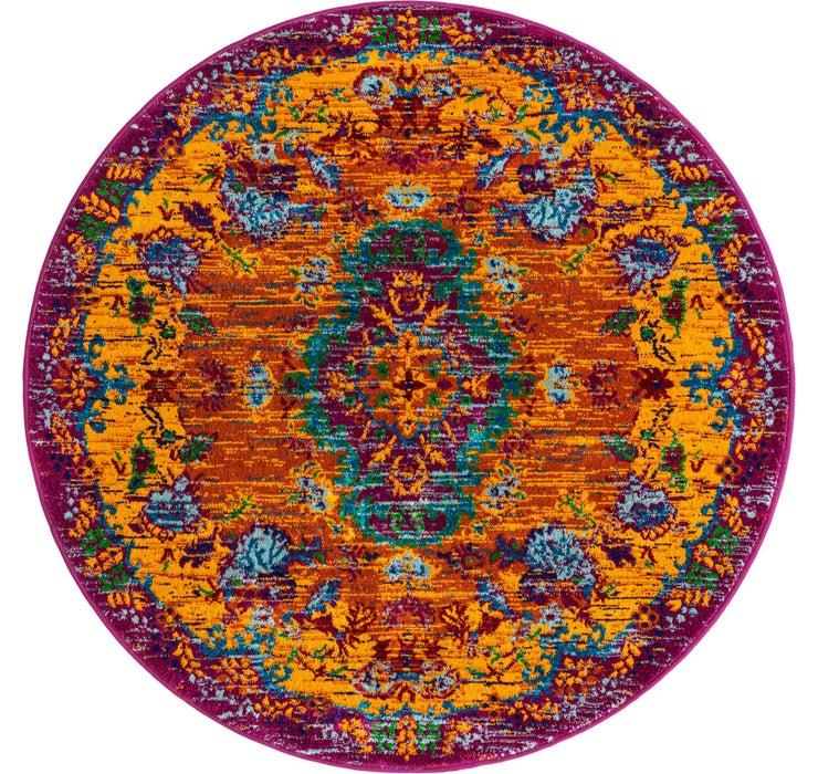 122cm x 122cm Calypso Round Rug