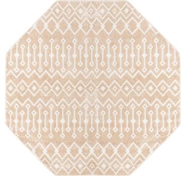 7' x 7' Bohemian Trellis Octagon Rug main image