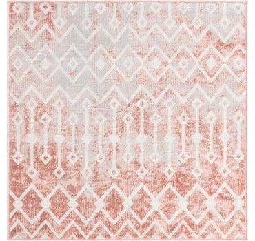 4' x 4' Bohemian Trellis Square Rug main image