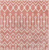 4' x 4' Bohemian Trellis Square Rug thumbnail