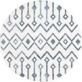 3' x 3' Bohemian Trellis Round Rug thumbnail
