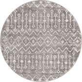 5' 3 x 5' 3 Bohemian Trellis Round Rug thumbnail