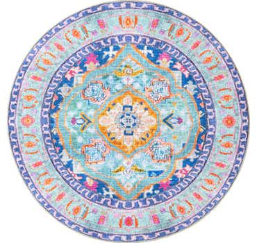 7' 7 x 7' 7 Revival Round Rug