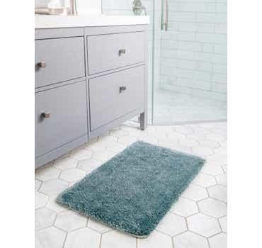 1' 8 x 2' 7 Bano Luxe Bath Mat Rug