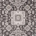 7' 10 x 7' 10 Outdoor Aztec Square Rug