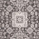 7' 10 x 7' 10 Outdoor Aztec Octagon Rug