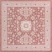 10' x 10' Outdoor Aztec Square Rug thumbnail