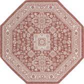 7' 10 x 7' 10 Outdoor Aztec Octagon Rug thumbnail