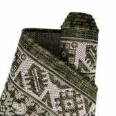 10' x 10' Outdoor Aztec Round Rug thumbnail