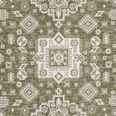 10' x 10' Outdoor Aztec Square Rug