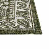 2' x 7' 10 Outdoor Aztec Runner Rug thumbnail