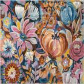 7' 10 x 7' 10 Blossom Square Rug thumbnail