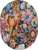 7' 10 x 10' Blossom Oval Rug thumbnail