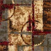 6' x 6' Coffee Shop Square Rug thumbnail