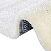 5' x 8' Solid Frieze Oval Rug thumbnail