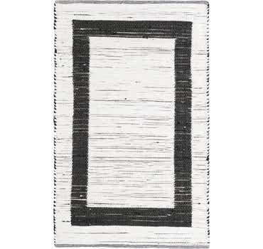 Image of 4' x 6' Chindi Jute Rug