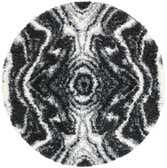 160cm x 160cm Lagom Shag Round Rug thumbnail