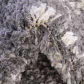 100cm x 100cm Serenity Shag Round Rug thumbnail