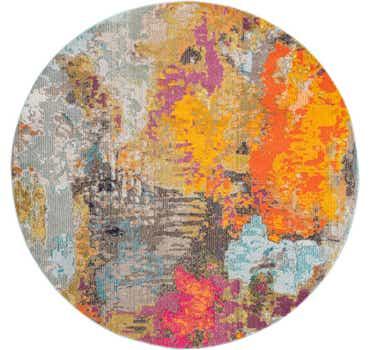 Image of  Multi Vivid Round Rug