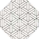 5' 3 x 5' 3 Lattice Trellis Octagon Rug thumbnail
