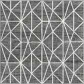 5' 3 x 5' 3 Lattice Trellis Square Rug thumbnail