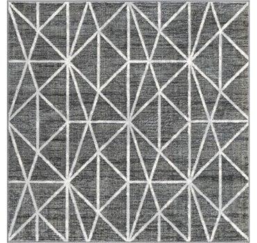 5' 3 x 5' 3 Lattice Trellis Square Rug main image