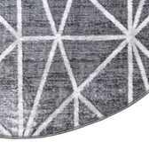 5' 3 x 8' Lattice Trellis Oval Rug thumbnail