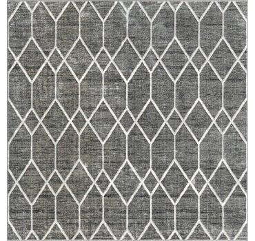 7' x 7' Lattice Trellis Square Rug main image