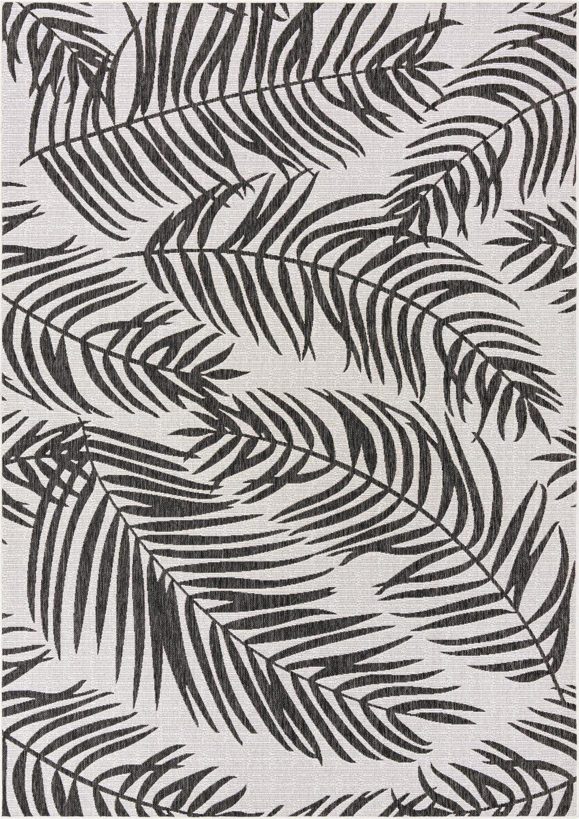 8' x 11' 4 Outdoor Botanical Rug main image