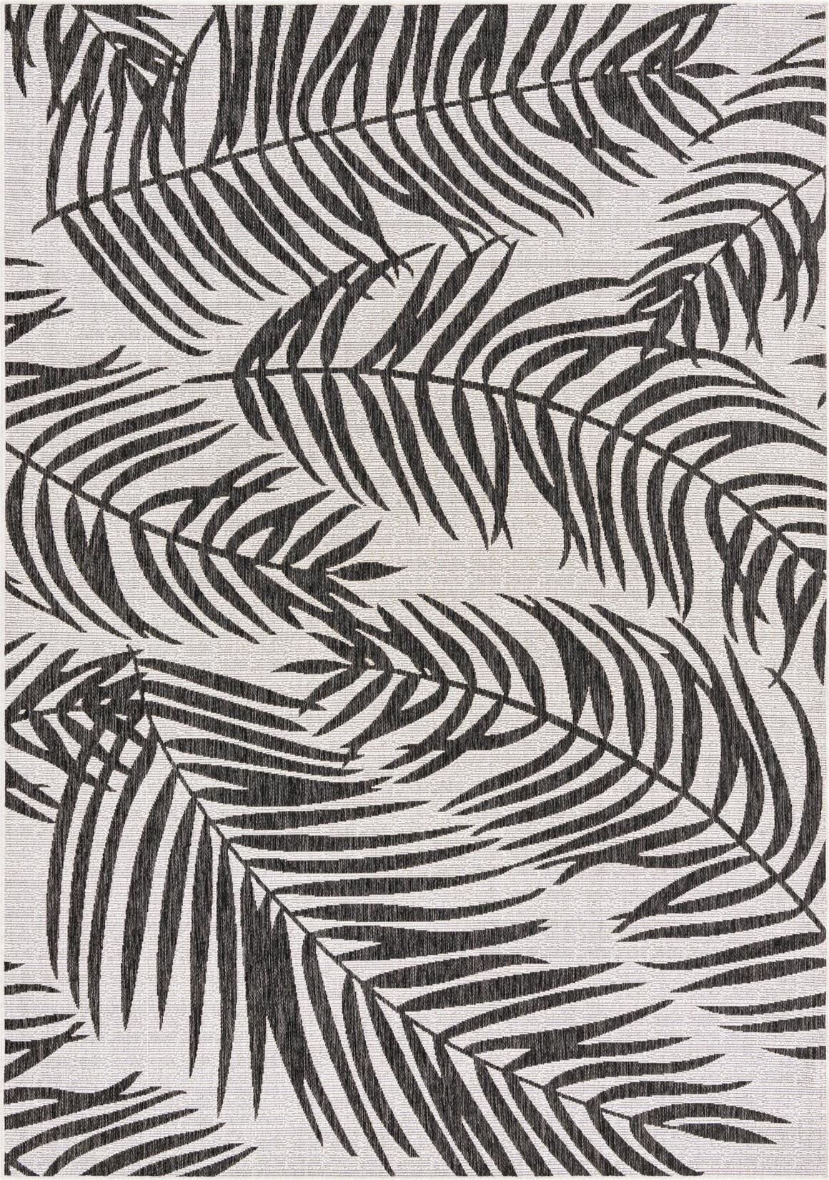 7' x 10' Outdoor Botanical Rug main image