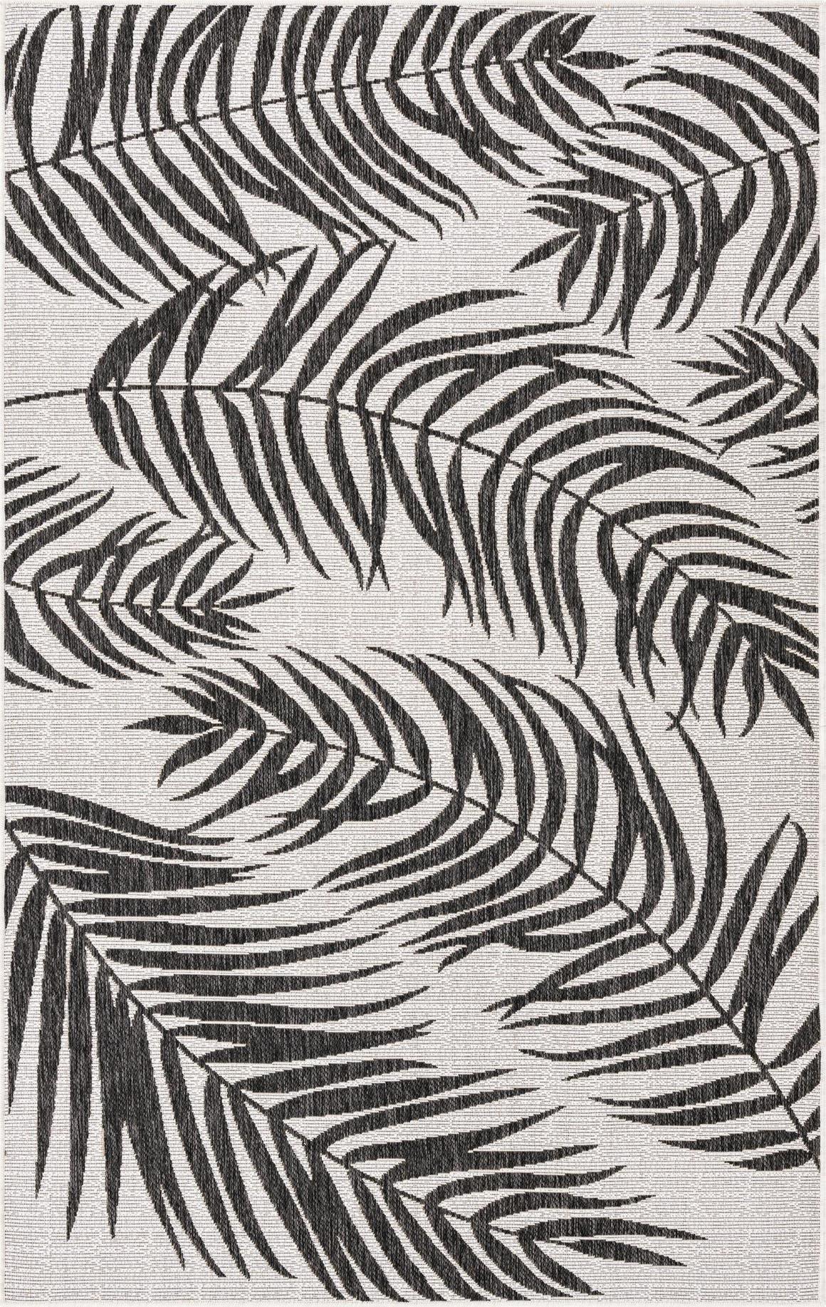 5' x 8' Outdoor Botanical Rug main image
