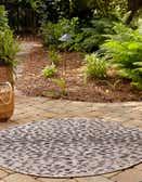 10' x 10' Outdoor Safari Round Rug thumbnail