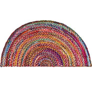 3' x 6' Braided Chindi Rug main image
