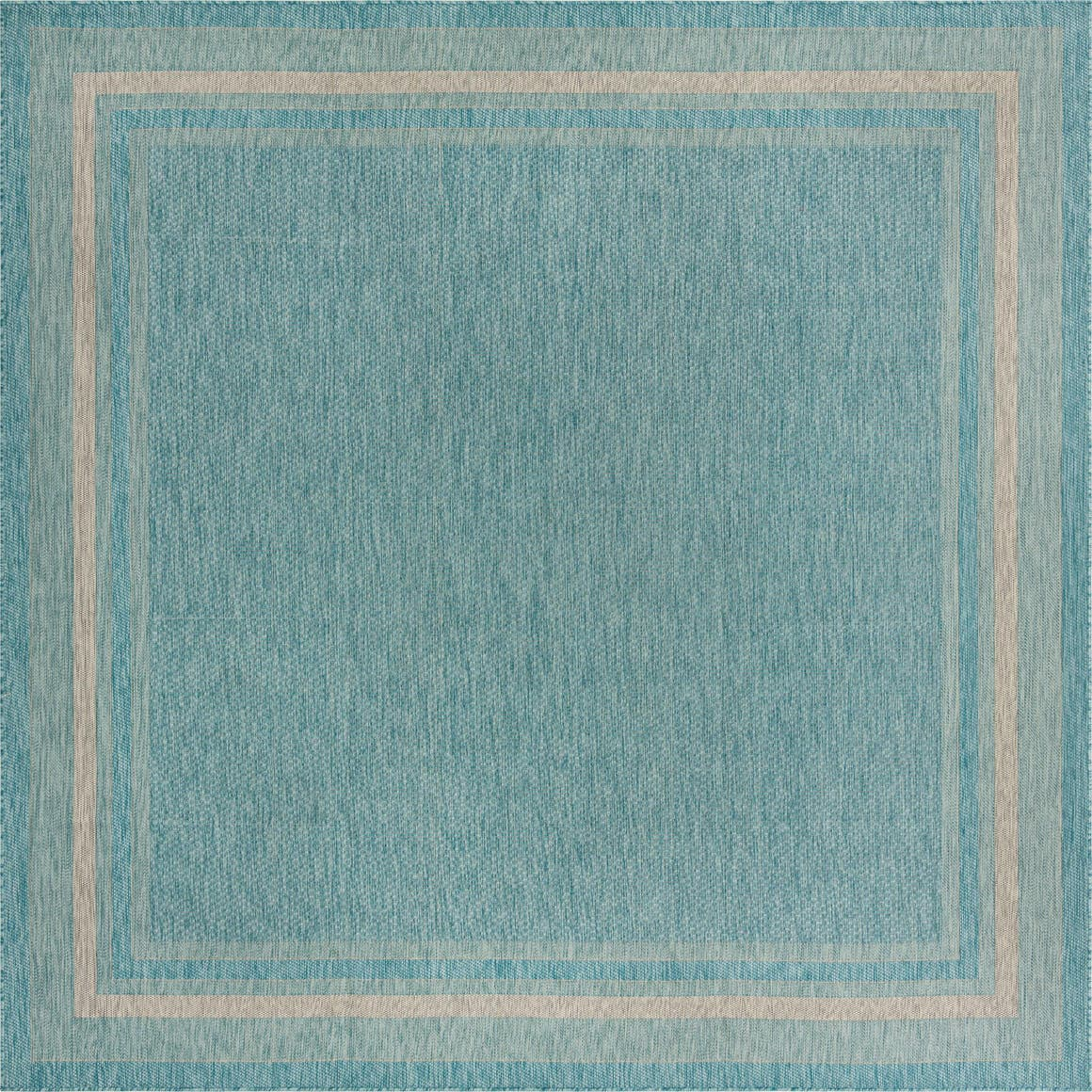 10' 8 x 10' 8 Outdoor Border Square Rug main image