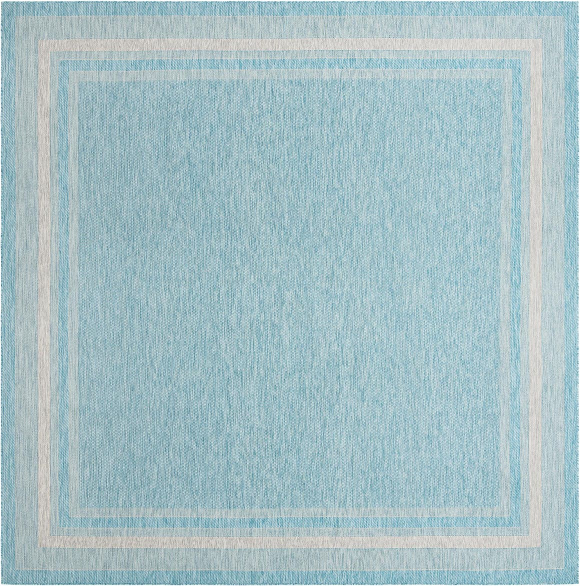 13' x 13' Outdoor Border Square Rug main image