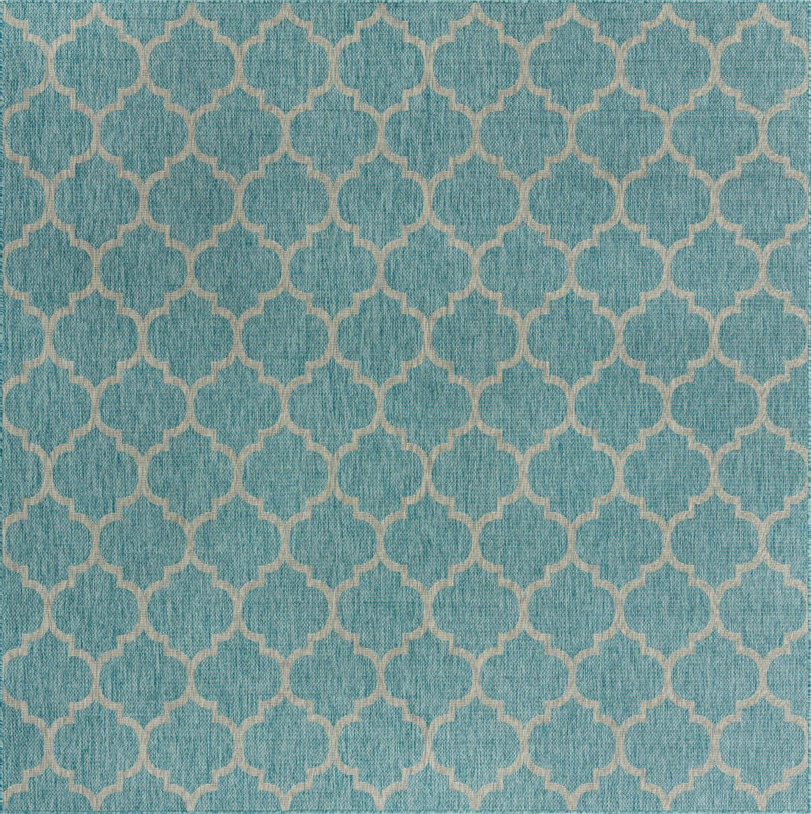 10' 8 x 10' 8 Outdoor Trellis Square Rug main image